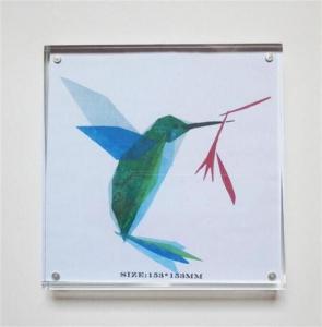 China acrylic photo frame perspex photo frame acrylic photo block on sale