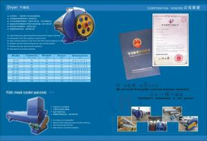 China fish meal machie-dryer used in fishmeal plant on sale