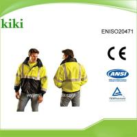 reflective safety jacket,men coats and jackets, reflective safety jacket