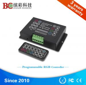 China 5V 12V 24V 36V 3 channel 21 key IR remote control rgb led strip controller manual on sale