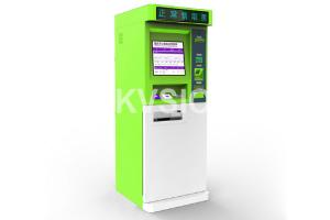 China Multifunctional Ticket Dispenser Machine Dual Core G2060 CPU With Cash Acceptor on sale