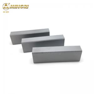 China Cemented Carbide Flat Bar Strip For Jaw Crusher Tips VSI Stone Crushing on sale