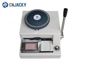 China PVC Plastic Card Personalization Machine , Manual Embosser Machine Braille Printer on sale