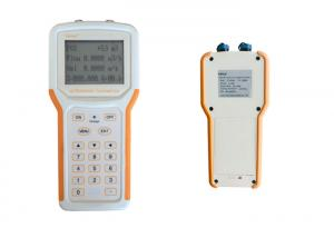 China Good Stability Ultrasonic Handheld Flow Meter IP65 For Mobile Measurement on sale