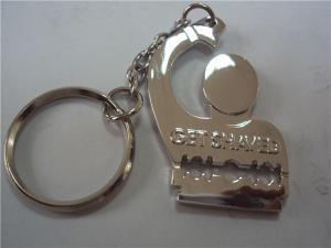 China Metal cartoon designer key chain, China metal gift factory for small order MOQ 300pcs on sale