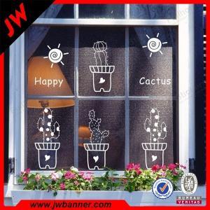 China UV resistant window decoration Window Stickers Vinyl showcase Decals on sale