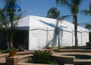 China White Color Heavy Duty Party Tent , Wind Resistant Easy Assembled Marquee Tent Wedding on sale