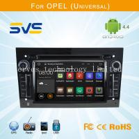 Android 4.4 car dvd player GPS navigation for Opel Universal with 3G wifi dvd gps BT usb