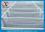 White PVC Coated Welded Wire Mesh Fence RAL9010 Anti-Corrosion