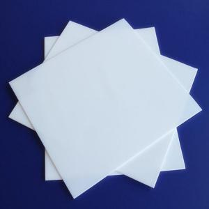 China Non-Stick PTFE  Sheet / Etched  Sheet Tensile Strength on sale