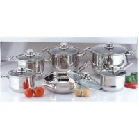 Mirror Polish Kitchen Stainless Steel Cookware Sets, Cooking Pots and Pans