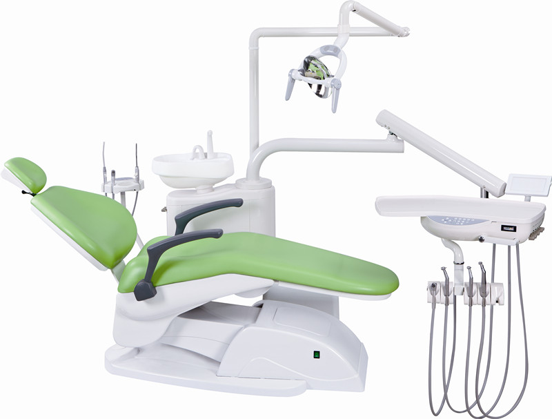 Apple Green High Quality Chinese Dental Chair Unit Dental
