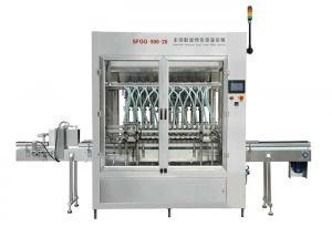China High Precision Automatic Bottle Filling Machine Ceramic Pump Cream Piston Filler on sale