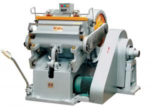 China High Performance Paper Die Cutting Machine For Creasing Corrugated Paper Box on sale