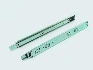 China Steel 3 fold Ball Bearing Drawer Slides Self close furniture drawer slides on sale