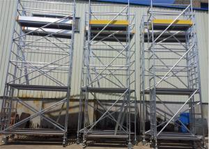 China Construction 6m Scaffold Tower Aluminum 6061-T6 Lightweight Scaffold Tower on sale