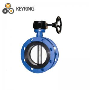 China API 7K Drilling rig mud pump spare parts stainless steel Flange Butterfly Valve on sale