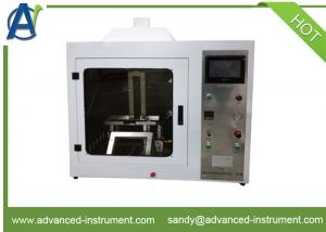 China FAR.25.853 Vertical Flammability Test Equipment for Aircraft Material on sale