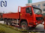 6 X 4 Log Carrier Heavy Equipment Trucks 40 TON  for transport SINOTRUK HOWO CHASSIS EuroIII
