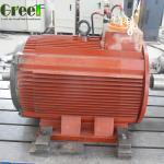 150rpm AC Three Phase Permanent Magnet Synchronous Generator 1KW 5KW 10KW 50KW 100KW