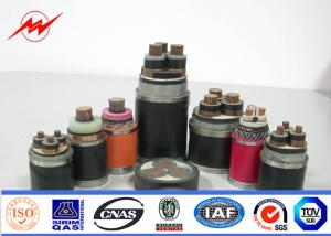 China 220kv 300 Mm² Copper Dc Power Cable PVC Or XLPE Insulation ISO9001 on sale