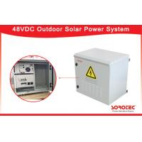 Smart Monitor Outdoor Solar Power System with MPPT Solar Charge Controller