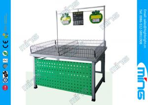 China Durable Retail Supermarket Single Sided Vegetable and Fruit Shelves on sale