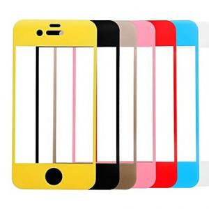 China For Iphone 6/6 Plus Colored Tempered Glass Screen Protector Full Cover ,OEM/ODM,Wholesale on sale