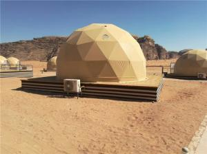 China Resort Glamping Dome Tent Luxury Camp Domes Hotel Wadi Rum Jordan Stable on sale
