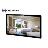 Retailer WIFI Digital Signage Wall Mount LCD Display High Definition With Metal Shell