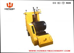 China Yellow Floor Scarifying Machine , Concrete Floor Leveling Machine Long Using Life on sale