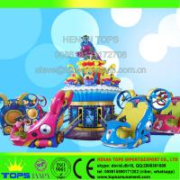 China HENAN TOPS Kid Amusement rides for sale Avatar blue star rides on sale