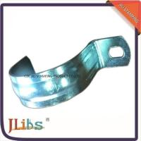 Zinc Galvanized Metal Pipe Clips / Carbon Steel Metal Tube Clamps G Clamp Structure