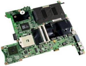 China Socket 478 type Integrated gateway laptop motherboards with inter ddr2 on sale