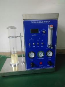China ASTM D2863 Oxygen Index Tester , OI Testing Machine For ISO4589 Standard on sale
