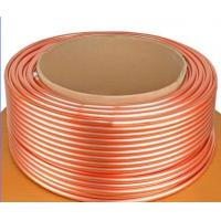 ASTM B111 C44300 , C68700 Brass Tube For Condenser And Cooling Application