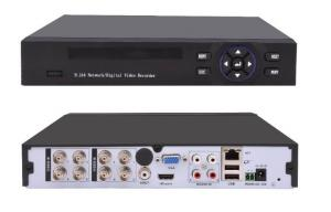 China H 264 Hybrid Security Camera DVR 5 in 1  2 SATA Multiple Analog / IP Input on sale