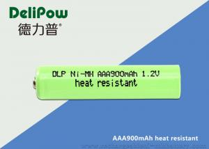 China Charge 2000 Times High Temperature Rechargeable Battery AAA 900mAh on sale