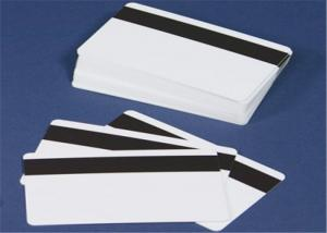 China Blank Magnetic Strip Credit Card , Custom Plastic Id Cards For Bank / Restaurant on sale