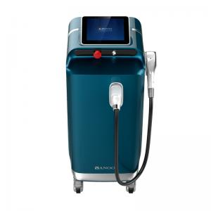 China 1200W Permanent 808nm Diode Laser Hair Removal Machine 10 - 300m Pulse Duration on sale