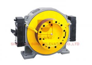 China DC 110V 2 * 0.88A Gearless elevator traction motor Load 630~1150kg / Speed 1.0~2.0m/s (SN-GTW9) on sale