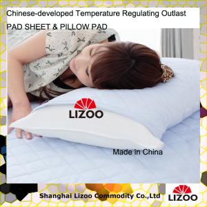 China cooling  bed pad and pillow pad with PCM phase change material coating fabric on sale