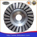 Light Weight 100-180mm Turbo Diamond Grinding Wheels With Aluminium Core