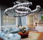A lâmpada de cristal conduzida nova do teto 2015, brilho conduziu a lâmpada de pendente de cristal