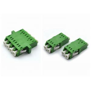 China DX / Quad LC Fiber Optic Adapter / Coupler Single Mode For ODF Connection on sale