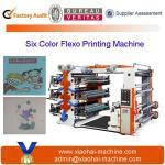 High Quality Six Colors Flexographic Printing Machine