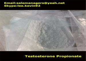 China Natural Raw Testosterone Powder Cas 57-85-2 Testosterone Propionate For Women on sale