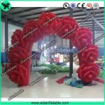 Wedding Decoration Inflatable Rose Flower Arch Event Inflatable Archway