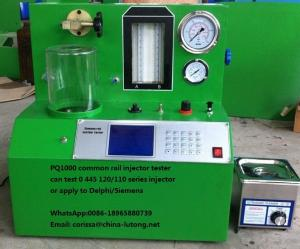 China bosch common rail injector test bench PQ1000 common rail injection pump test bench on sale