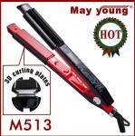 Straightener profissional M513 do cabelo do LCD